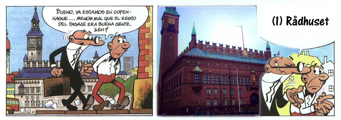 Mortadelo y Filemón en Rådhusetplad
