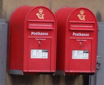 Buzón de correos danés